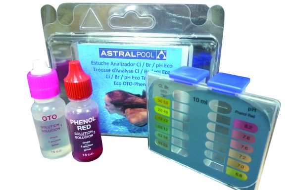 Kit Analizador Cloro-Ph ECO BLYSTER TOTAL. ASTRAL Pool.